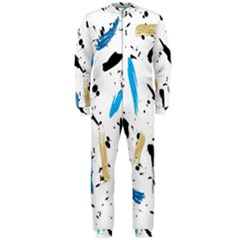 Abstract Image Image Of Multiple Colors Onepiece Jumpsuit (men)