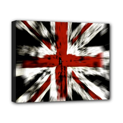 British Flag Canvas 10  X 8