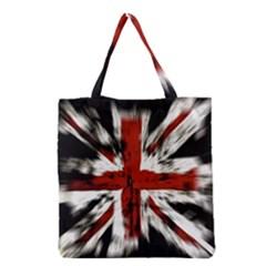 British Flag Grocery Tote Bag by Nexatart