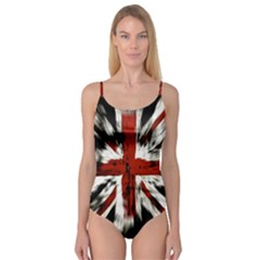 British Flag Camisole Leotard