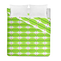 Abstract Pattern Background Wallpaper In Multicoloured Shapes And Stars Duvet Cover Double Side (full/ Double Size)