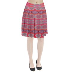 Hard Boiled Candy Abstract Pleated Skirt by Nexatart