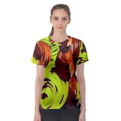 Neutral Abstract Picture Sweet Shit Confectioner Women s Sport Mesh Tee by Nexatart