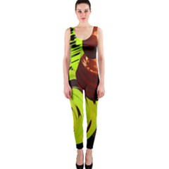 Neutral Abstract Picture Sweet Shit Confectioner Onepiece Catsuit by Nexatart