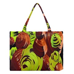 Neutral Abstract Picture Sweet Shit Confectioner Medium Tote Bag by Nexatart