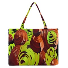 Neutral Abstract Picture Sweet Shit Confectioner Medium Zipper Tote Bag