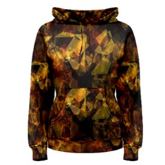Autumn Colors In An Abstract Seamless Background Women s Pullover Hoodie