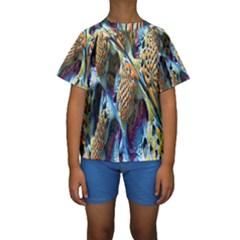 Background, Wallpaper, Texture Kids  Short Sleeve Swimwear