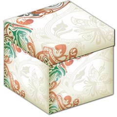 Flower Floral Tree Leaf Storage Stool 12   by Jojostore