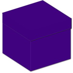 Plain Violet Purple Storage Stool 12   by Jojostore