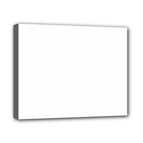 Plain White Canvas 10  X 8  by Jojostore