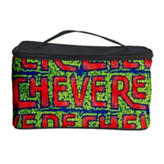 Typographic Graffiti Pattern Cosmetic Storage Case by dflcprints