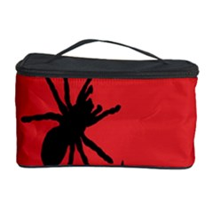 Illustration With Spiders Cosmetic Storage Case by Nexatart