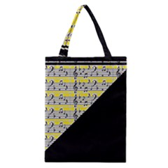 Note Abstract Paintwork Classic Tote Bag