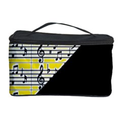 Note Abstract Paintwork Cosmetic Storage Case by Nexatart