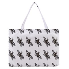 Insect Animals Pattern Medium Zipper Tote Bag by Nexatart