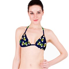 Bees Cartoon Bee Pattern Bikini Top
