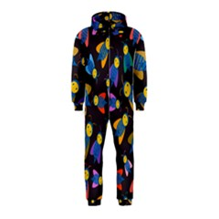 Bees Animal Insect Pattern Hooded Jumpsuit (kids)