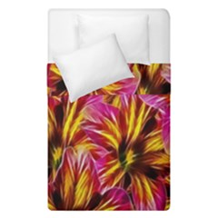 Floral Pattern Background Seamless Duvet Cover Double Side (single Size) by Nexatart