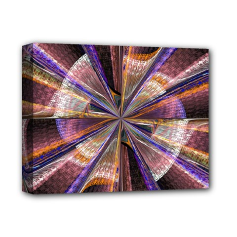 Background Image With Wheel Of Fortune Deluxe Canvas 14  X 11  by Nexatart