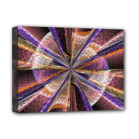 Background Image With Wheel Of Fortune Deluxe Canvas 16  X 12   by Nexatart