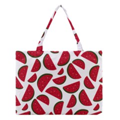 Fruit Watermelon Seamless Pattern Medium Tote Bag by Nexatart