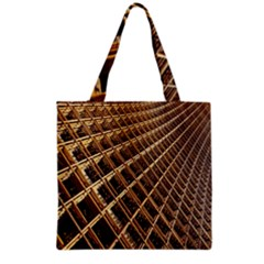 Construction Site Rusty Frames Making A Construction Site Abstract Grocery Tote Bag by Nexatart