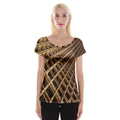 Construction Site Rusty Frames Making A Construction Site Abstract Women s Cap Sleeve Top by Nexatart