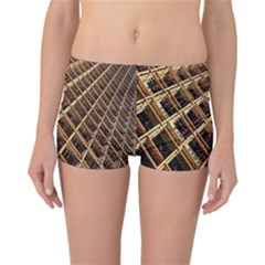 Construction Site Rusty Frames Making A Construction Site Abstract Reversible Bikini Bottoms by Nexatart