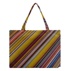 Colourful Lines Medium Tote Bag by Nexatart