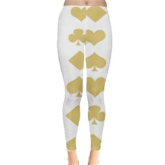 Card Symbols Leggings  by Mariart