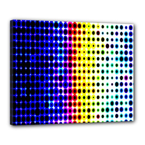 A Creative Colorful Background Canvas 20  X 16  by Nexatart