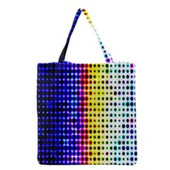 A Creative Colorful Background Grocery Tote Bag by Nexatart