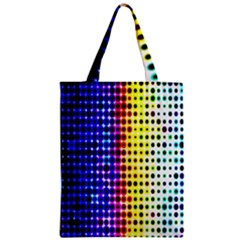A Creative Colorful Background Zipper Classic Tote Bag by Nexatart