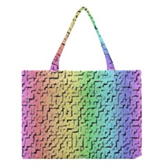 A Creative Colorful Background Medium Tote Bag by Nexatart