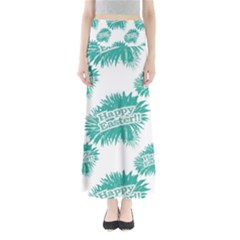 Happy Easter Theme Graphic Print Maxi Skirts by dflcprintsclothing