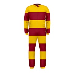 Oswald s Stripes Red Yellow Onepiece Jumpsuit (kids) by Mariart