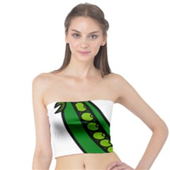 Peas Green Peanute Circle Tube Top