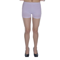 Solid Alice Pink in an English Country Garden Skinny Shorts by PodArtist