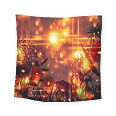 Summer Evening Square Tapestry (small)