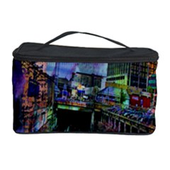 Downtown Chicago City Cosmetic Storage Case by Nexatart