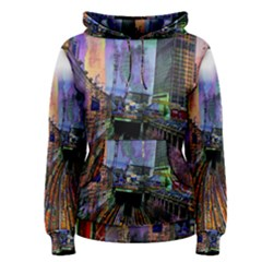 Downtown Chicago City Women s Pullover Hoodie