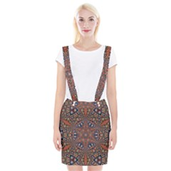 Armenian Carpet In Kaleidoscope Suspender Skirt by Nexatart