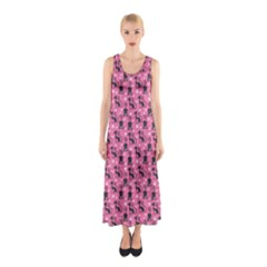 Cute Cats I Sleeveless Maxi Dress