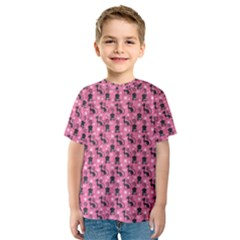 Cute Cats I Kids  Sport Mesh Tee