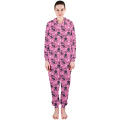 Cute Cats I Hooded Jumpsuit (ladies)