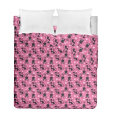 Cute Cats I Duvet Cover Double Side (full/ Double Size)