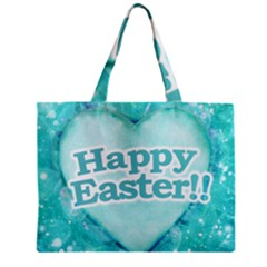 Happy Easter Theme Graphic Mini Tote Bag by dflcprints