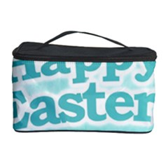 Happy Easter Theme Graphic Cosmetic Storage Case by dflcprints