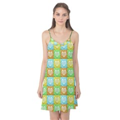 Colorful Happy Easter Theme Pattern Camis Nightgown by dflcprintsclothing